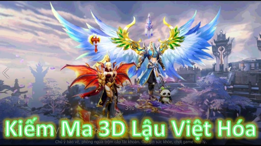Game Lậu Free ALL - Kiếm Ma 3D Lậu Việt Hóa Free 50M Kim Ngọc + 50M Kim Ngọc Khóa + 50M Vàng - Xài Tẹt Ga Không Phải Lo Nghĩ