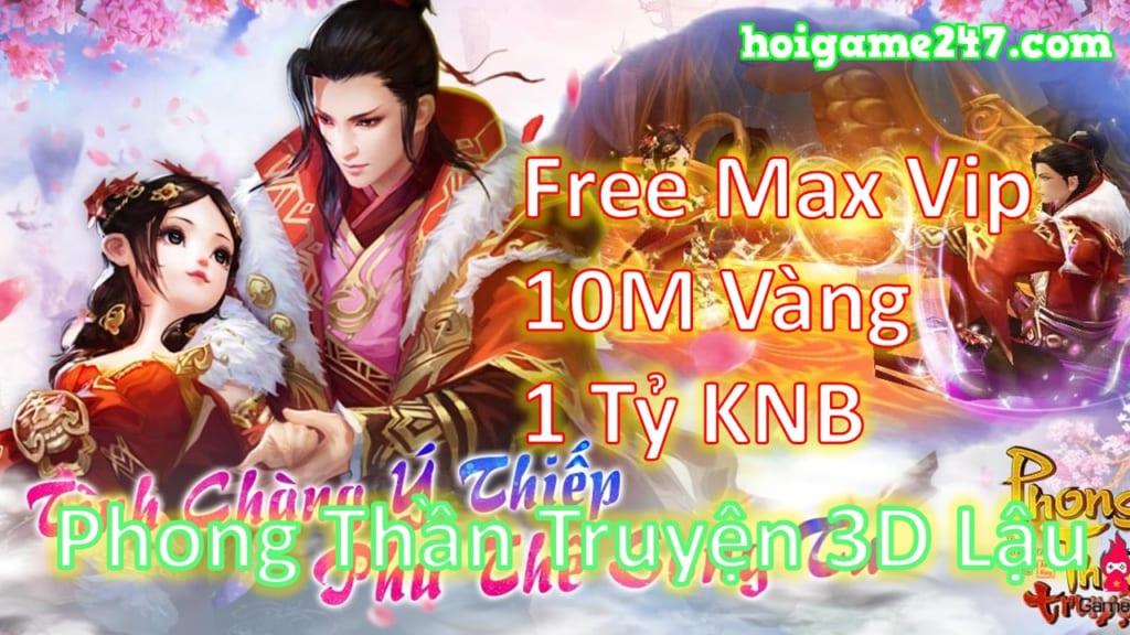 Game Lậu Mobile 2020 Phong Thần Truyện Mobile 3D Free Max Vip + 10M Vàng + 1 Tỷ KNB KHÓA + 1 Tỷ Xu Xài Vàng Không Phải Nghĩ
