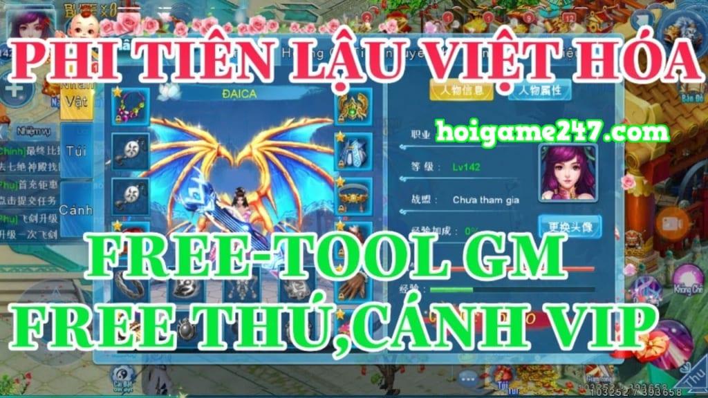 Game Lậu Mobile Free ALL - Phi Tiên Mobile YGame Free Max Vip 25 + 99999999 Vàng + Xài Vàng Tẹt Ga Không Phải Lo Nghĩ