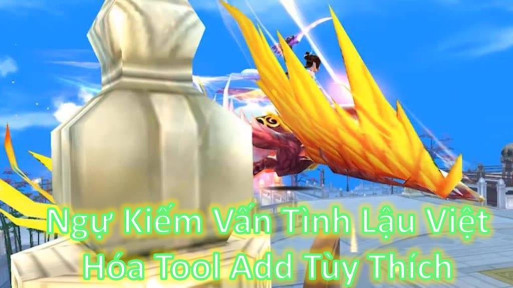 Game Lậu Free ALL - Ngự Kiếm Vấn Tình VTC Lậu  3D VIỆT HÓA FREE TOLL GM 9999999999 Add Tùy Thích