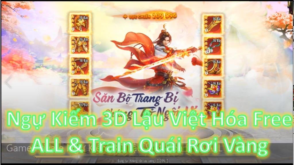 Game Lậu Mobile Free ALL - Ngự Kiếm Vấn Tình  3D Lậu Việt Hóa Free Tool GM Add Tùy Thích